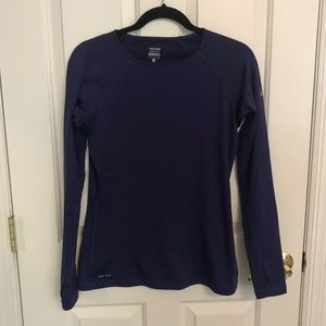 Nike Fleece-Lined Dri Fit Shirt